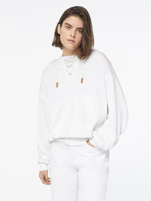 Frame Laced Sweatshirt