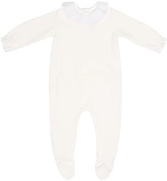 Bonpoint Velour onesie