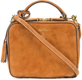 Mark Cross mini Laura bag - women - Suede - One Size