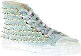 Gienchi studded hi-top sneaker