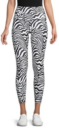 Chrldr Zebra-Print Leggings