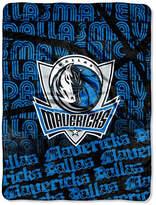 Northwest Company Dallas Mavericks Micro Raschel Redux Throw Blanket