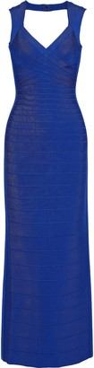 Herve Leger Estrella Cutout Bandage Gown