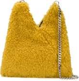 MM6 MAISON MARGIELA faux-shearling shoulder bag