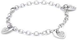Morellato White Crystals Bracelet Steel Sogno SUI08