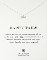 Dogeared Happy Tails Dog Bone Necklace
