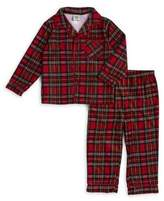 Little Me Baby Boy's Two-Piece Plaid Pajama Set