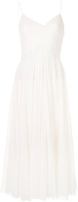 Alexis Sarrana pleated dress