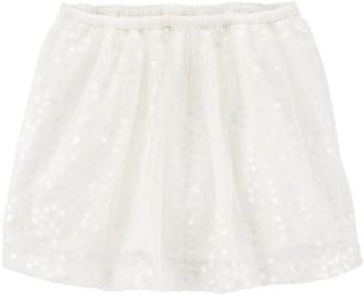 Osh Kosh Toddler Girl Sequin Tulle Skirt