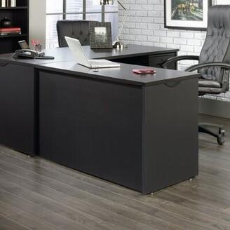 Red Barrel Studioâ® Castalia Executive Desk with Hutch Red Barrel StudioA
