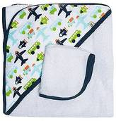 JJ Cole Hooded Towel - White Vroom
