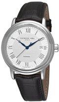 Raymond Weil Men's 2837-STC-00308 Maestro White Roman Numerals Dial Watch