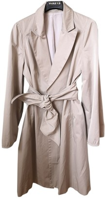 Paule Ka Grey Trench Coat for Women