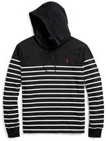 Big & Tall Polo Ralph Lauren Striped Cotton Hooded T-Shirt