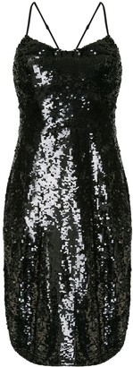 Nili Lotan Sequin Shift Dress