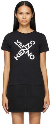Kenzo Black Big X Sport T-Shirt