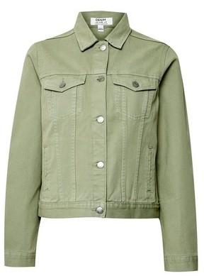 Dorothy Perkins Womens Khaki Organic Denim Jacket