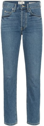 Eve Denim Silver Bullet Straight Leg Jeans