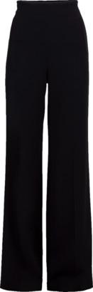 Roland Mouret Axon Side Zip Wide Leg Pant