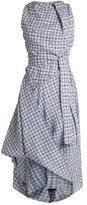 Vivienne Westwood Gingham asymmetric dress