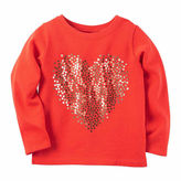 Carter's Girls Long Sleeve T-Shirt-Toddler