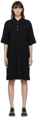 The Row Black Viscose Aspen Dress