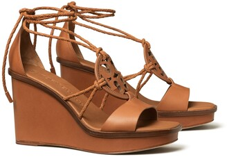 Tory Burch Miller Braided Wedge Sandal
