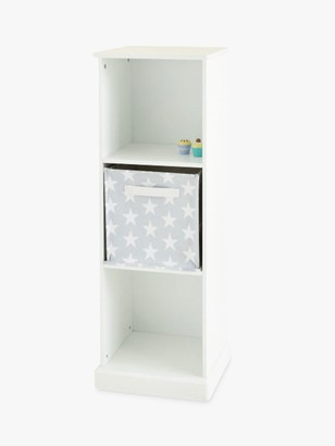 Great Little Trading Co Abbeville Three Cube Storage Unit, White