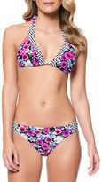 Jessica Simpson Halter Triangle Bikini Top