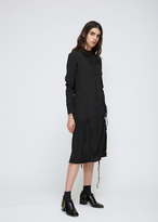J.W.Anderson Black Exaggerated Pocket Dress