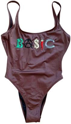 Moschino Brown Swimwear for Women Vintage