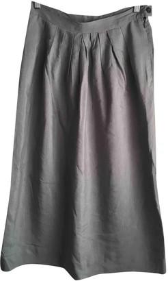 Forte Forte Blue Linen Skirt for Women