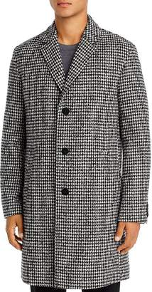 HUGO Malte Houndstooth Slim Fit Coat