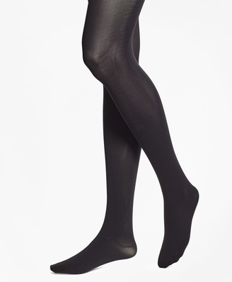 Brooks Brothers Opaque Nylon Tights