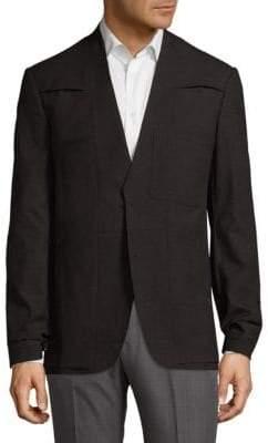 Maison Margiela V-Neck Wool Sportcoat