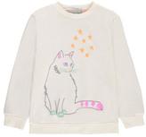Stella McCartney Sale - Exclusive x Smallable - Cat Sweatshirt Kids