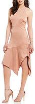 Style Stalker STYLESTALKER Rhea Asymmetrical Midi Dress