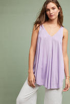 Meadow Rue Pleated V-Neck Tunic Tank