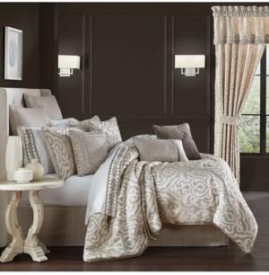 J Queen New York Milan King 4 Pieces Comforter Set Bedding