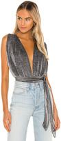 superdown Priya Cross Back Bodysuit
