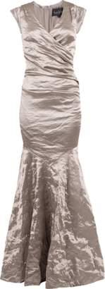Nicole Miller Surplus Metal Gown