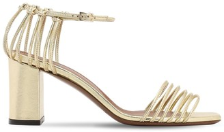 L'Autre Chose 70mm Metallic Leather Sandals