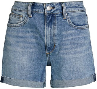 Joe's Jeans The High-Rise Denim Cutoff Shorts