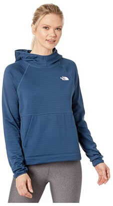 The North Face Echo Rock Pullover Hoodie (Blue Wing Teal) Women's Clothing