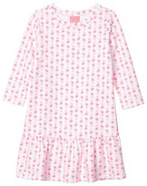 Lilly Pulitzer Kim Dress (Toddler/Little Kids/Big Kids) (Pink Topaz Fineapple) Girl's Dress