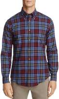 Brooks Brothers Flannel Slim Fit Button-Down Shirt