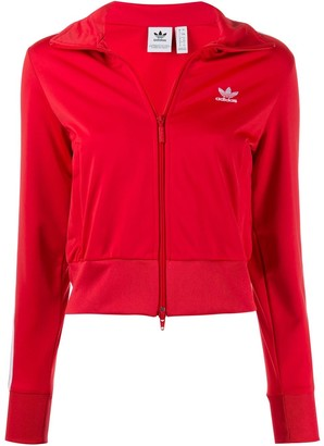 adidas Firebird cropped track jacket
