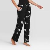 Stars Above Women's Floral Print Beautifully Soft Pajama Pants - Stars AboveTM Black