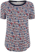 Oasis Floral Stripe Perfect Tee