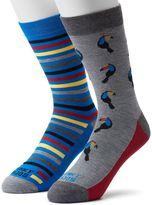 Men's Funky Socks 2-pack Toucan Derby Socks